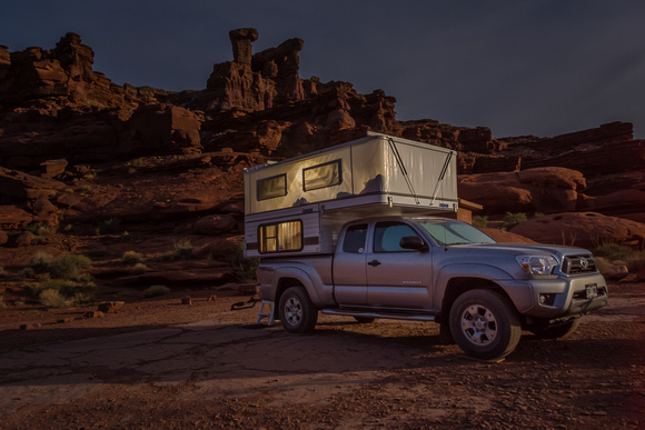 Camping On The White Rim